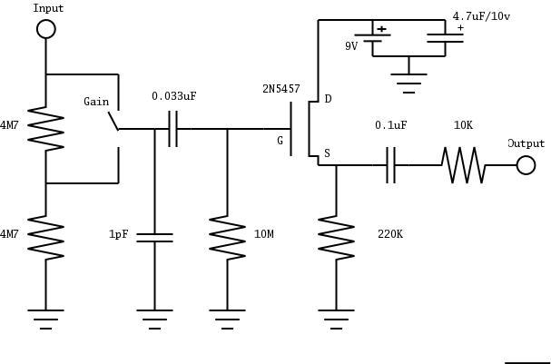 Groovy Piezo Pickup Wiring Diagram Basic Electronics Wiring Diagram Wiring 101 Vihapipaaccommodationcom